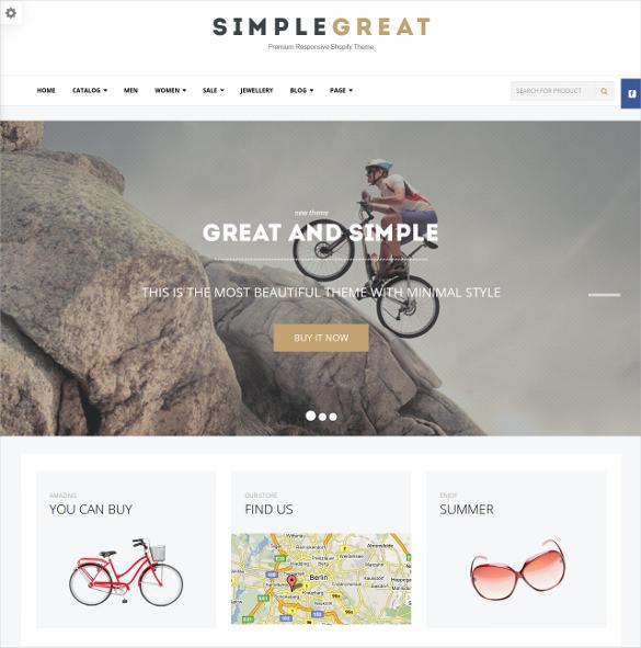 premium responsive shopify ecommerce theme