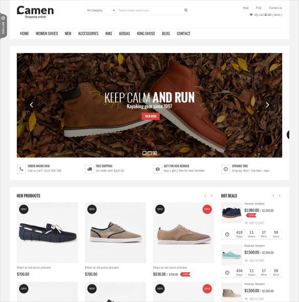 sns camen responsive prestashop ecommerce theme