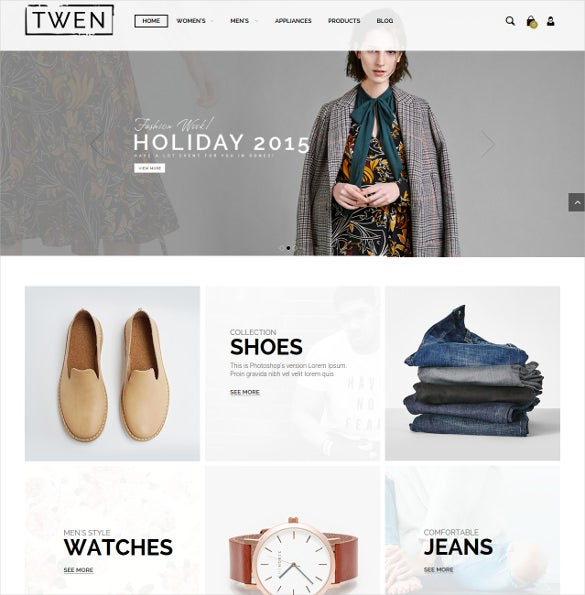 responsive magento fashion ecommerce theme