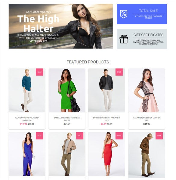 welldone 3dcart ecommerce theme