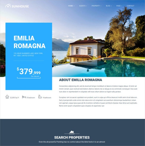 sunhouse real estate html5 template