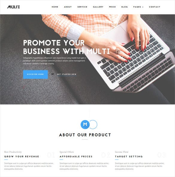 friendly multi purpose html5 template
