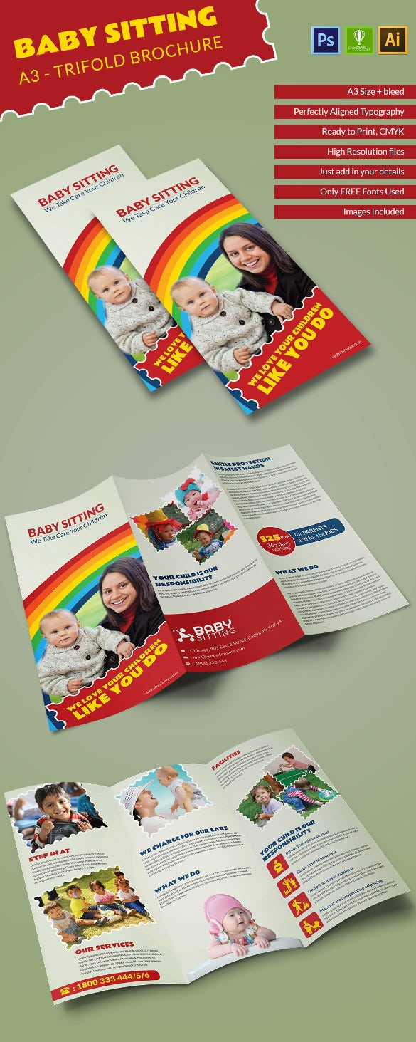 Babysitting_A3trifold_brochure