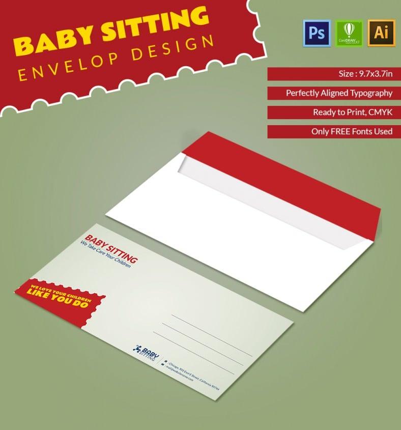 Babysitting_Envelope