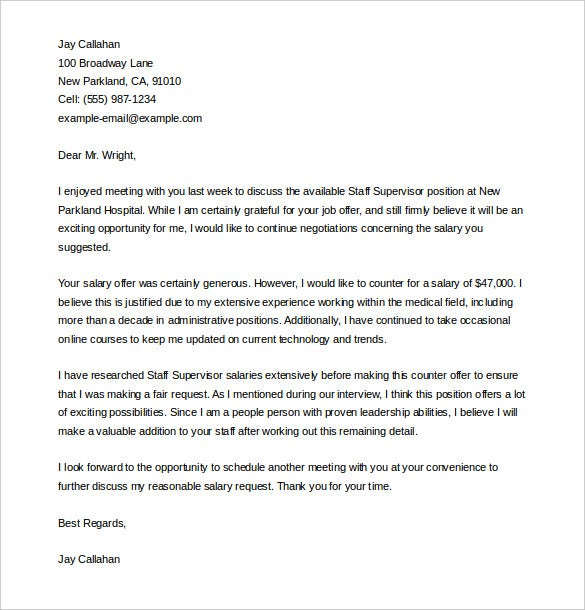 Offer Letter Template   Free Word Pdf Documents Download