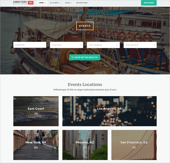directory builder pro weordpress theme