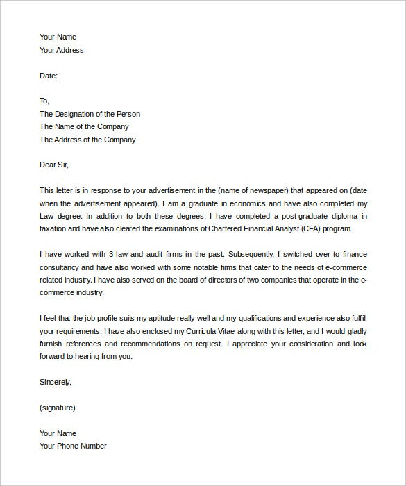 Delightful Letter Of Intent Template Job Word Format Download Throughout Intent Letter Format