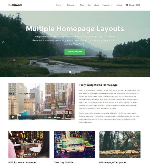 small business multi purpose directory wordpress theme