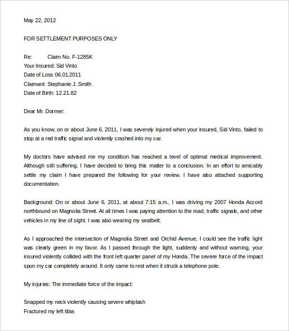 Demand Letter Templates Free Word PDF Documents Download - Formal demand for payment letter template