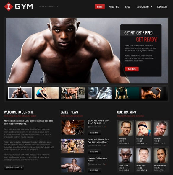 ultimate fitness wordpress theme