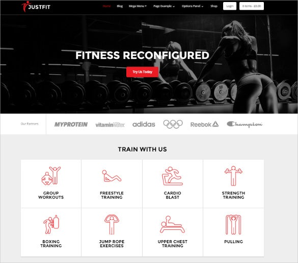 ultimate fitness wordpress theme1