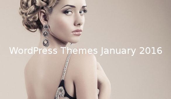 WordPress Themes January 2016