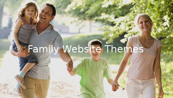 family website themes