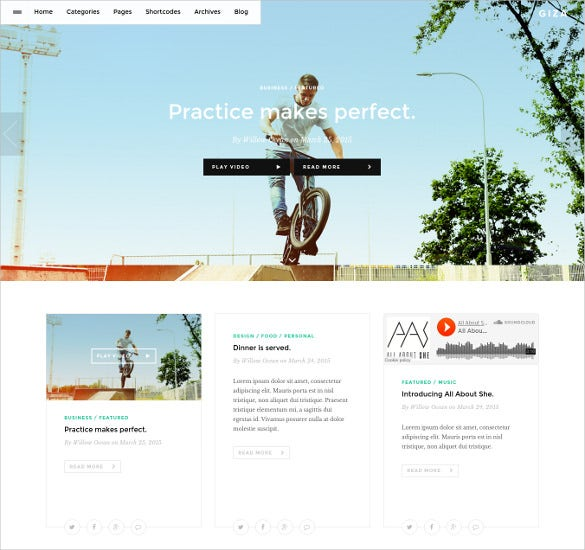 writers podcast multi concept wordpress theme
