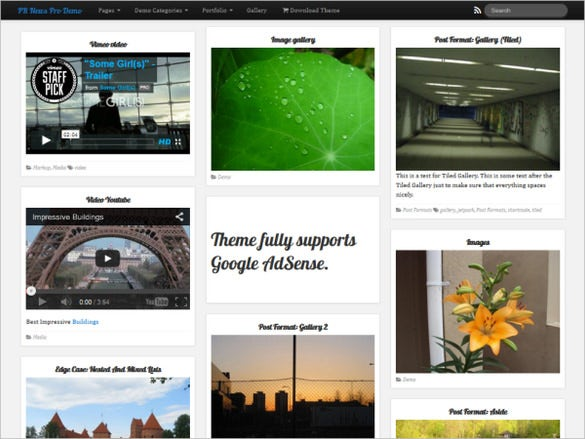 free powerful responsive multi purpose news wordpress theme