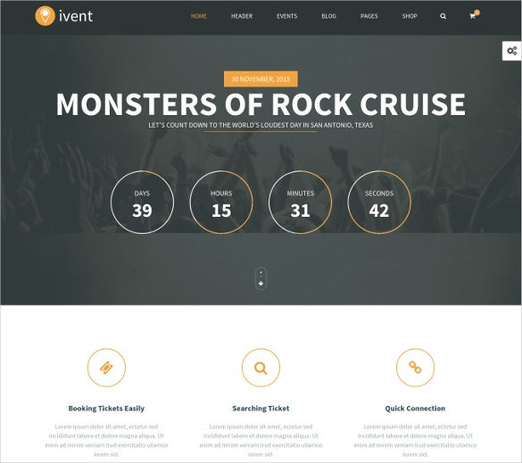 multipurpose event wordpress template