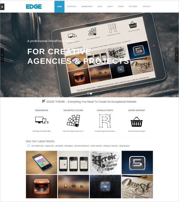 business event wordpress template