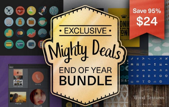 Latest Bundle Freebie Deals from MightyDeals