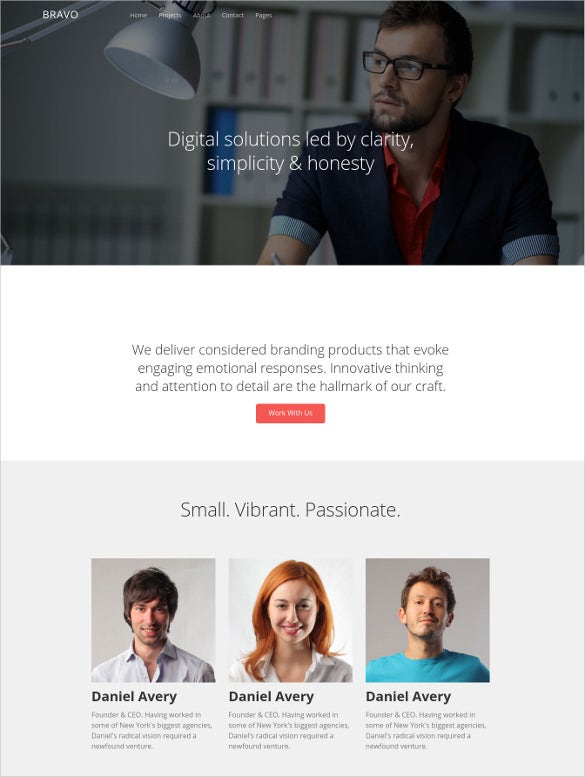 business multipurpose bootstrap html website template