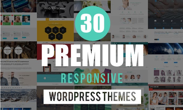 Responsive WordPress Themes Coupon - 30 Themes for $49