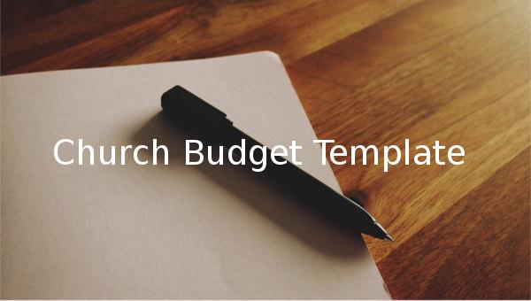 churchbudgettemplate1