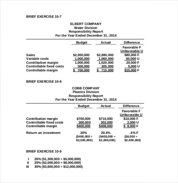 sample manufacturing budget template pdf download
