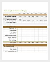 Home-Yearly-Budget-Worksheet-Template