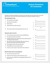 Graduate-Budget-Template-in-PDF-Format