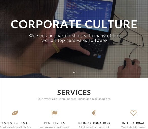 profi multipurpose corporate html5 template