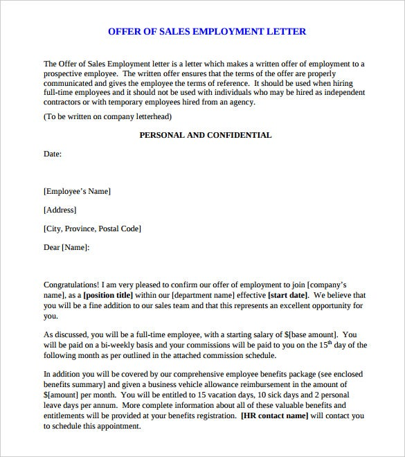 Doc585670 Sales Letter Sample 10 Sales Letter Templates Free – Sales Letters Example