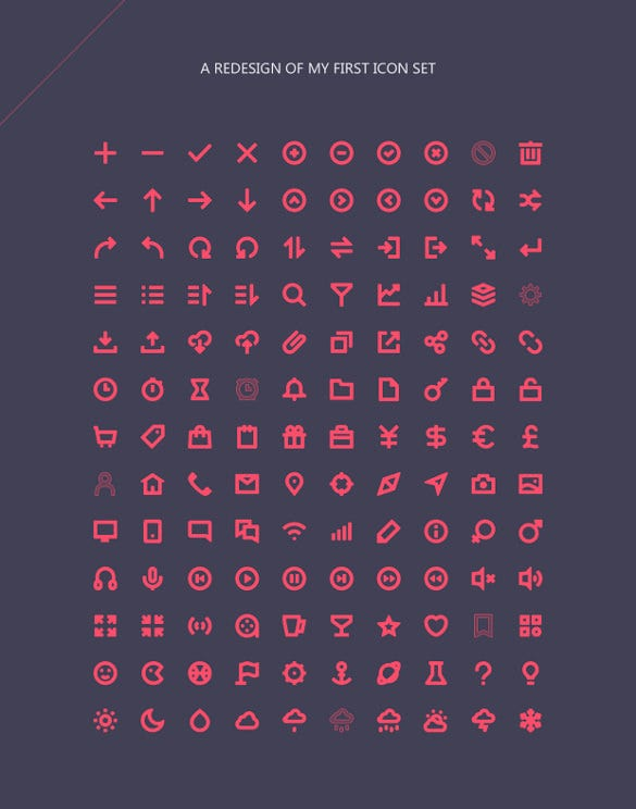 Redesign Icons in 2016