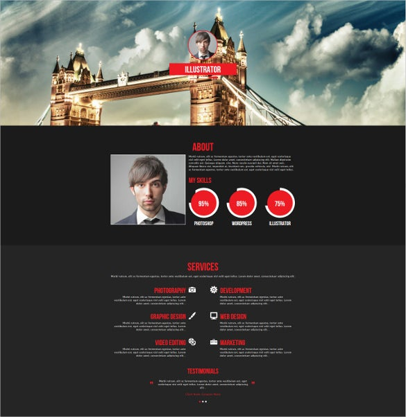 easy customized lightbox portfolio website theme
