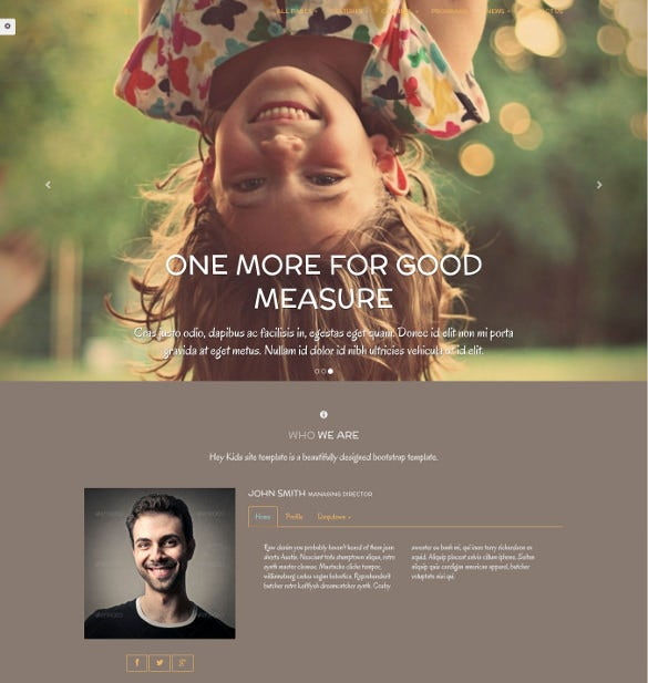 easy responsive multipurpose children website theme