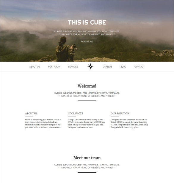 24+ Easy Website Themes & Templates | Free & Premium Templates