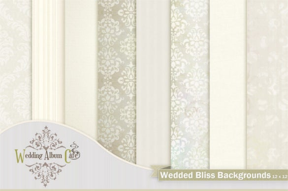 wedded bliss backgrounds template pdf download