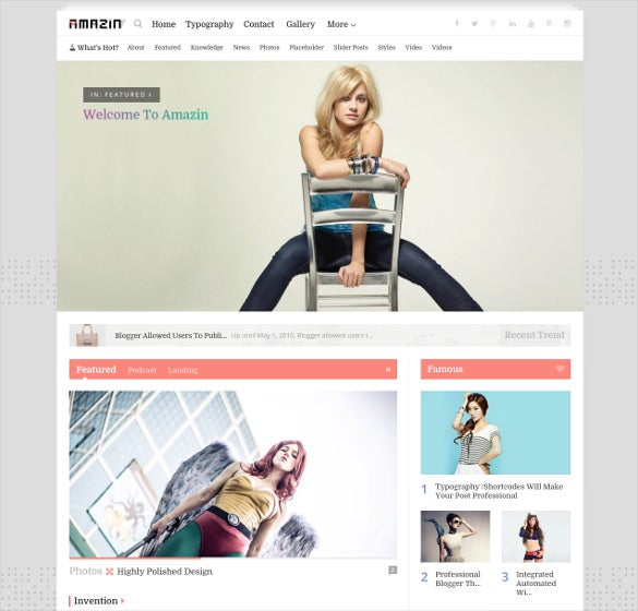 amazing responsive multipurpose blogger template