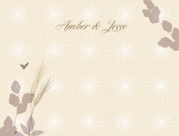 61 wedding backgrounds psd wedding background free premium wedding fall wheat thank you card background stopboris Gallery