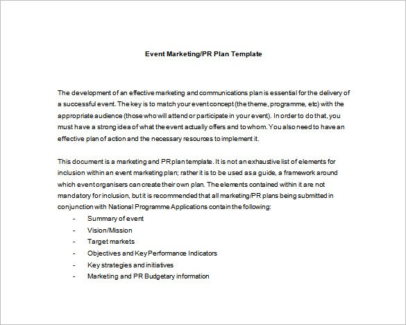 Event planning template 5 free word pdf documents download free