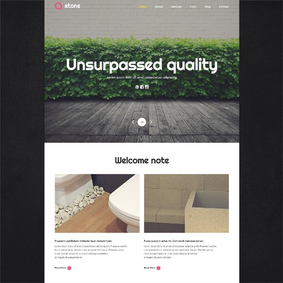 flooring materials wp theme