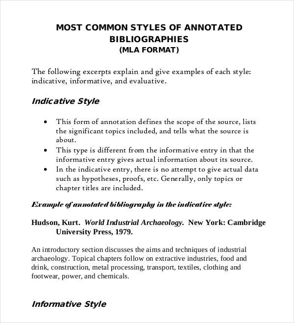 sample annotated bibliography mla format A sample mla annotated bibliography here is an annotated bibliography mla sample that shows the right format when writing one the spacing is also included but this.