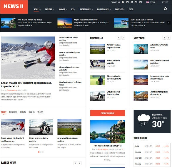 15+ News Website Themes & Templates | Free & Premium Templates