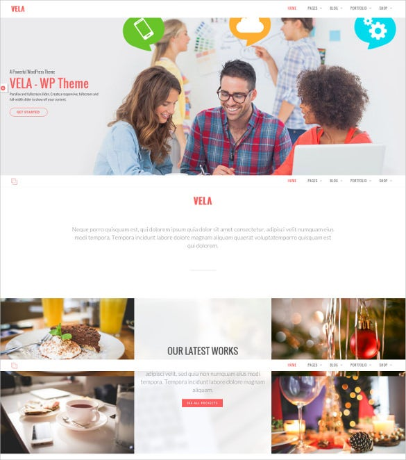 responsive business multi purpose cool website theme