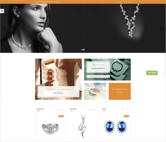 responsive online fashion store woocommerce website template