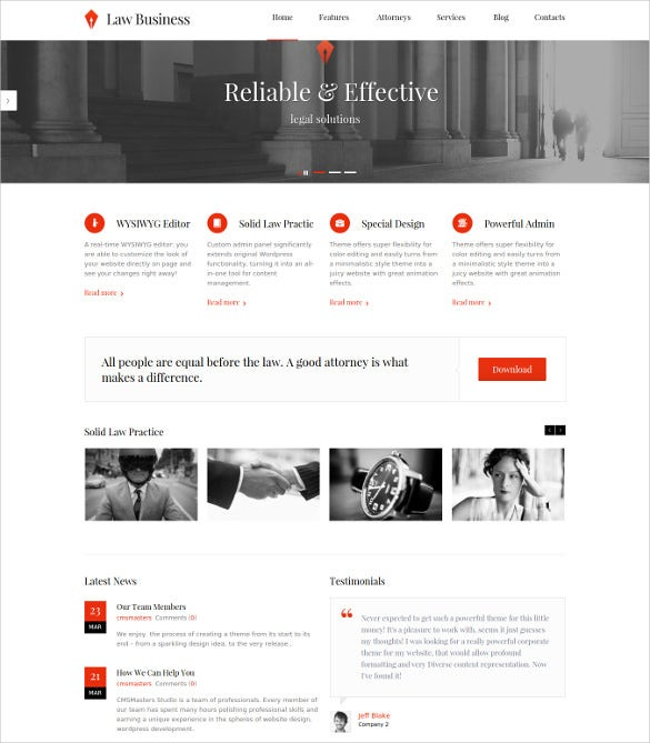 lawbusiness wordpress cool website theme