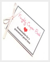 Naughty Coupon Love Coupon Book