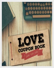 Attractive Love Coupon Book Template