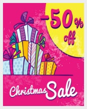 Easy To Edit Christmas discount Coupon