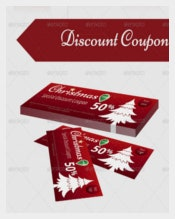 Christams Gift Coupon Template