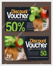 Clean And Modren Gift Coupon Template