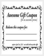 Easy To Print Free Homemade Coupon Template